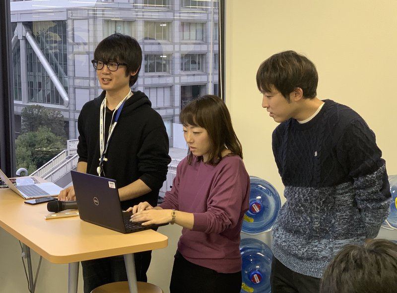HackDay2019 集計中の主催者